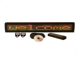 ML-SERIES TRI-COLOR SINGLE LINE INDOOR PROGRAMMABLE LED SIGN